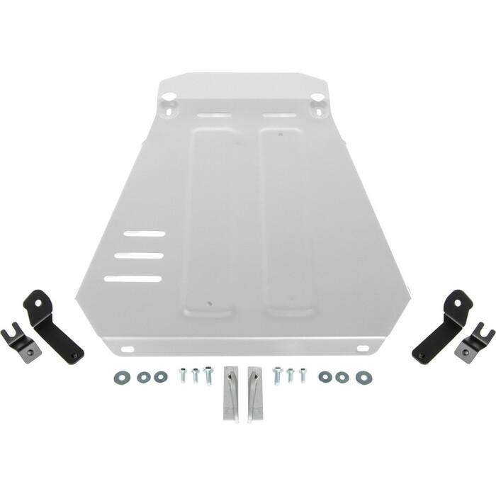 Защита КПП Rival для ВАЗ 2121 (1977-2019 / 2019-н.в.)/2131 (1993-н.в.), алюминий 3 мм, с крепежом, 333.6041.1