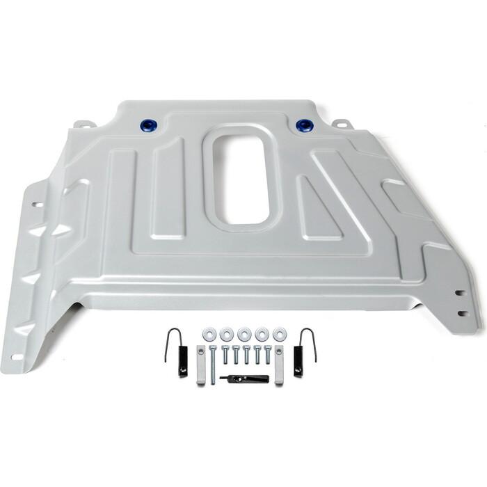 Защита кислородного датчика Rival для Nissan Terrano III (2016-н.в.)/ Renault Arkana (2019-н.в.)/ Duster I (2015-н.в.)/ Kaptur (2016-2020), алюм. 3 мм, 333.4725.3