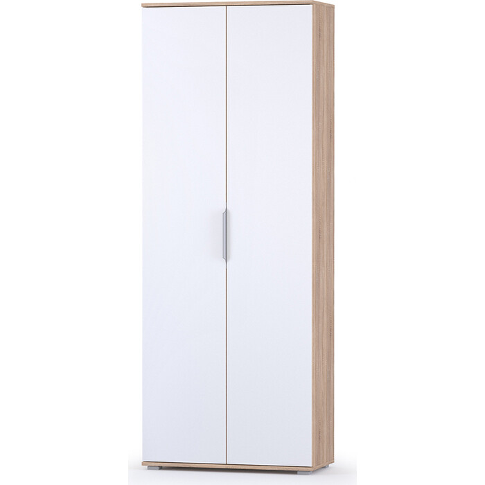 Шкаф для одежды Моби Куба 13.136 дуб сонома/белый премиум шкаф навесной моби линда 313 160 дуб сонома белый
