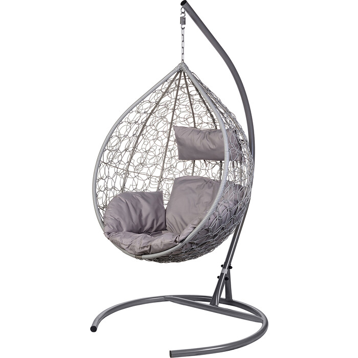 Подвесное кресло BiGarden Tropica gray серая подушка
