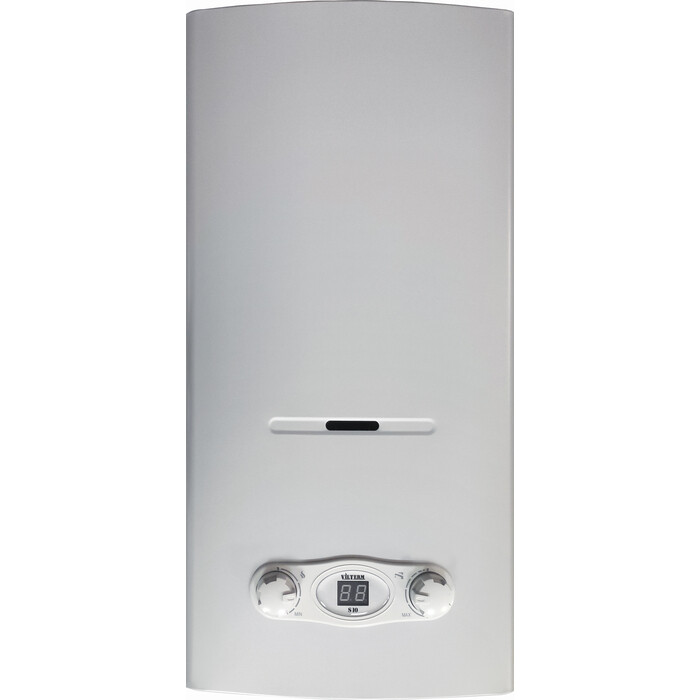 Газовый проточный водонагреватель VilTerm S10 серебро