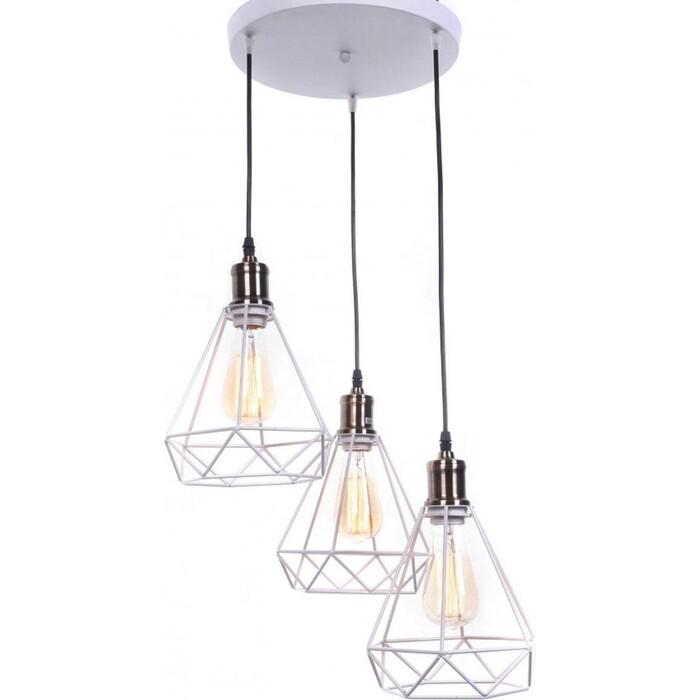 Люстра Lumina Deco Подвесная Cobi LDP 11609-3 WT