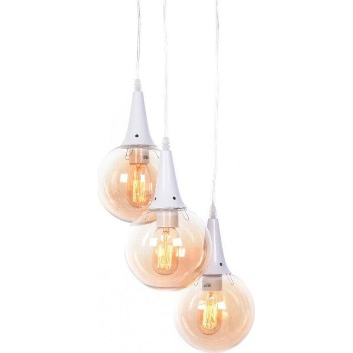 Люстра Lumina Deco Подвесная Rocherro LDP 11192-3 WT