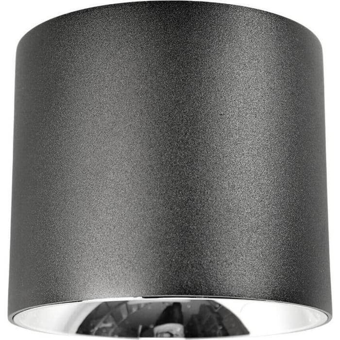 Светильник Lumina Deco Потолочный светодиодный Tubi LDC 8057-20WCOB ZS-D150*H150 BK