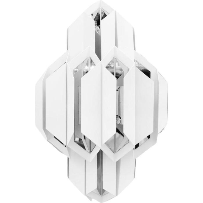 Светильник Lumina Deco Настенный Piramid LDW 6021-2 WT+CHR