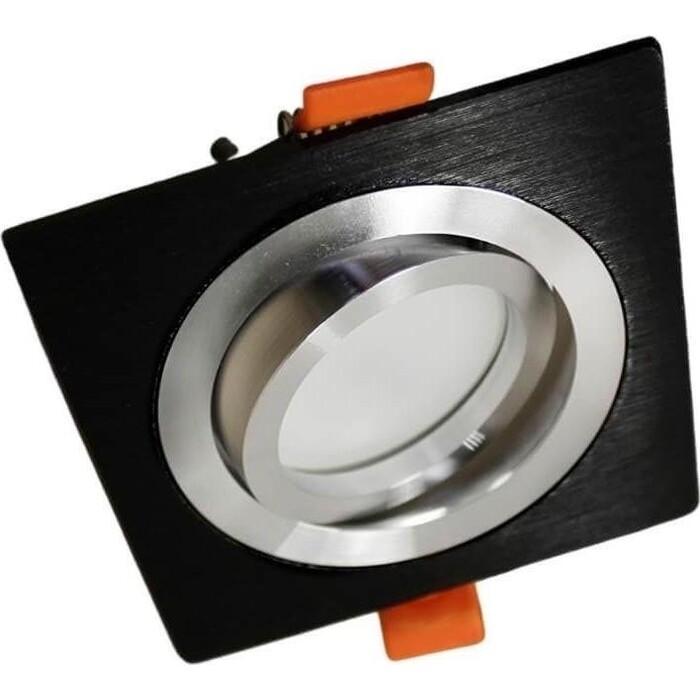 Светильник Lumina Deco Встраиваемый Luka LDC 8062-JP-L90*W90 BK+SL