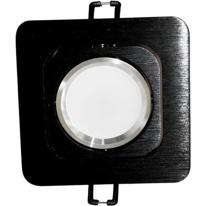 Светильник Lumina Deco Встраиваемый Moka LDC 8063-SS-L98*W98 BK+SL