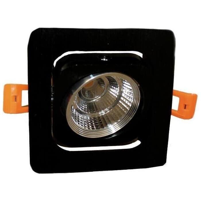 Светильник Lumina Deco Встраиваемый светодиодный Fostis LDC 8064-SS-7WCOB-L98*W98 SL+BK