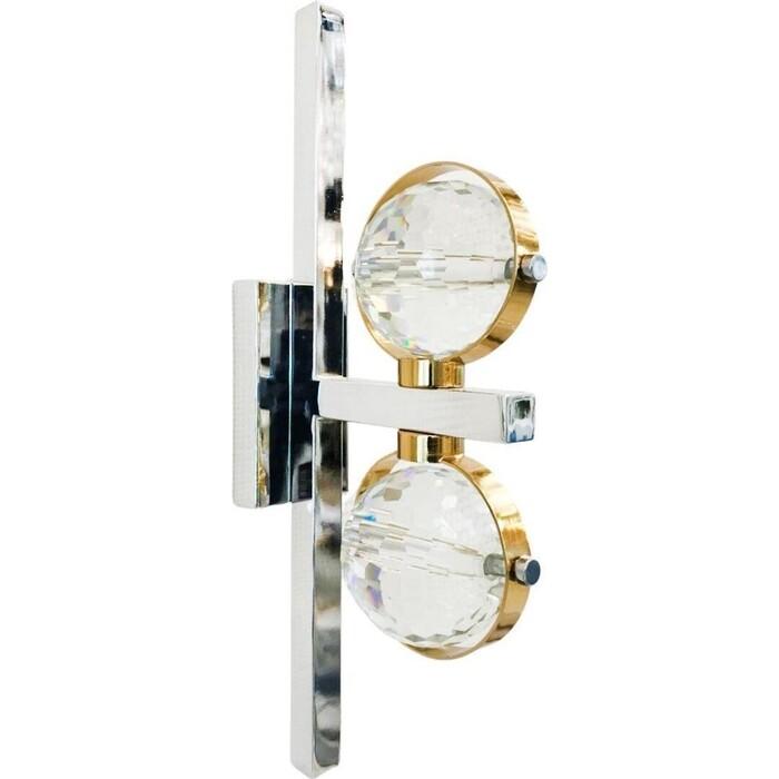 Бра Lumina Deco Kompass LDW 6064-2 CHR