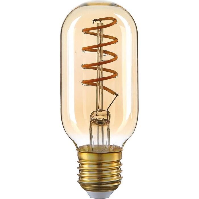 Лампа Thomson светодиодная филаментная E27 4W 1800K цилиндр прозрачная TH-B2199