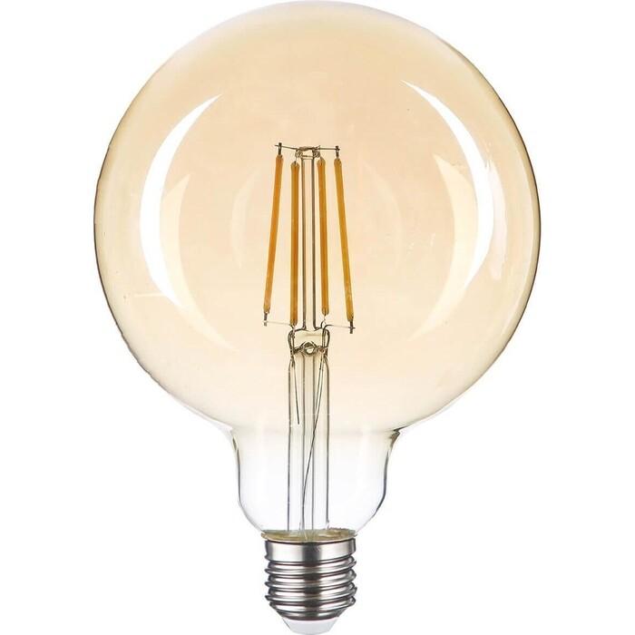Лампа Thomson светодиодная филаментная E27 6W 1800K шар прозрачная TH-B2170