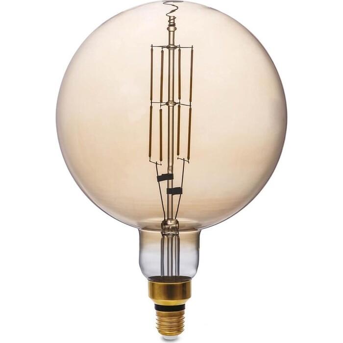 Лампа Thomson светодиодная филаментная E27 8W 1800K шар прозрачная TH-B2175