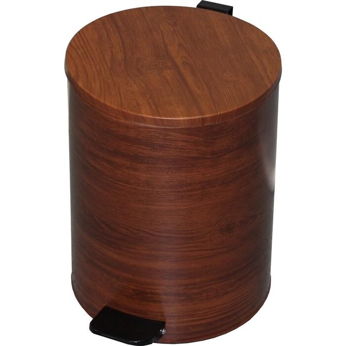 Ведро-контейнер для мусора Titan вишня 15л D250 Н320 (88303)