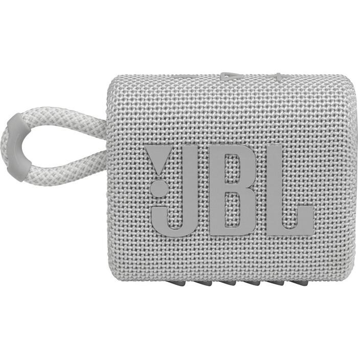 Портативная колонка JBL GO 3 (JBLGO3WHT) white
