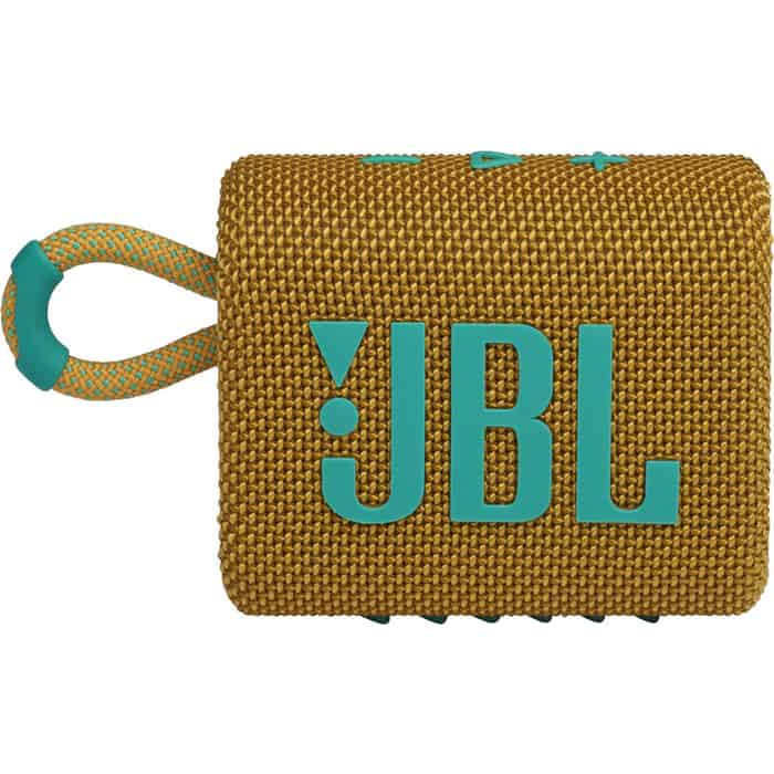 Портативная колонка JBL GO 3 yellow портативная bluetooth колонка jbl clip 3 yellow
