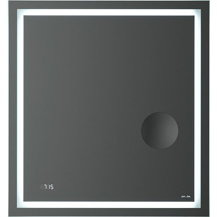 Зеркало Am.Pm Gem 65 подсветка LED, часы и косметическое зеркало (M91AMOX0653WG)