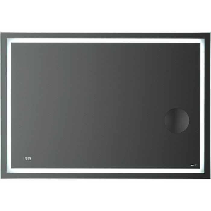 Зеркало Am.Pm Gem 100 подсветка LED, часы и косметическое зеркало (M91AMOX1003WG)