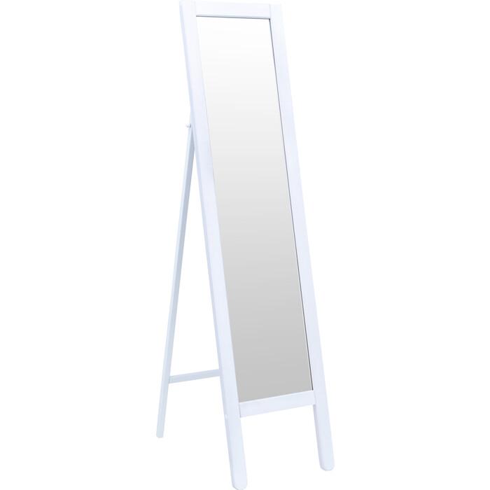 Фото - Зеркало напольное Leset Фиора беленый полка для обуви leset фиора венге алюминий металлик
