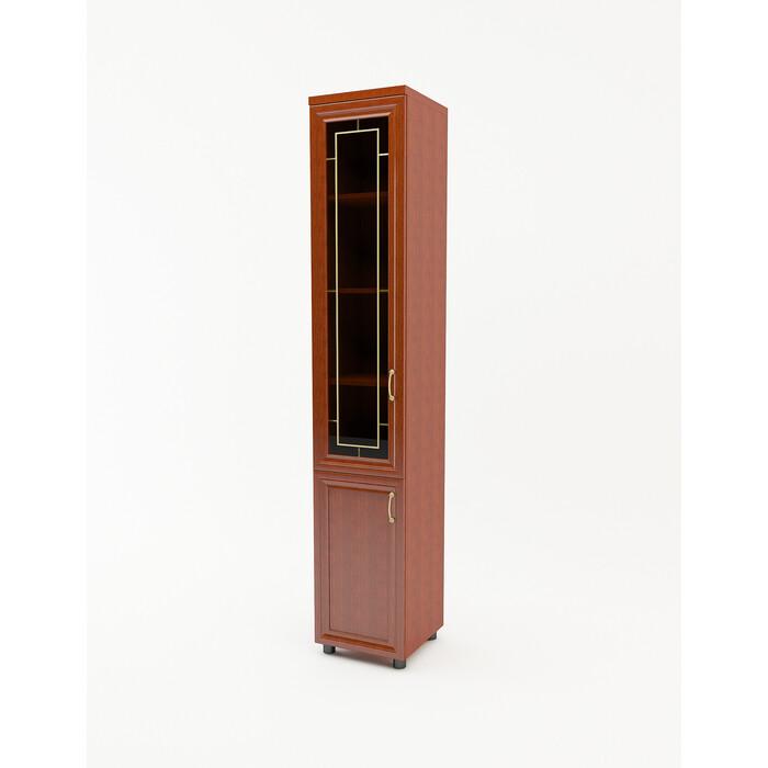 БАРОНС ГРУПП Шкаф распашной Премьер 2 дверный комбинированный 400 (Н2212) лев/прав