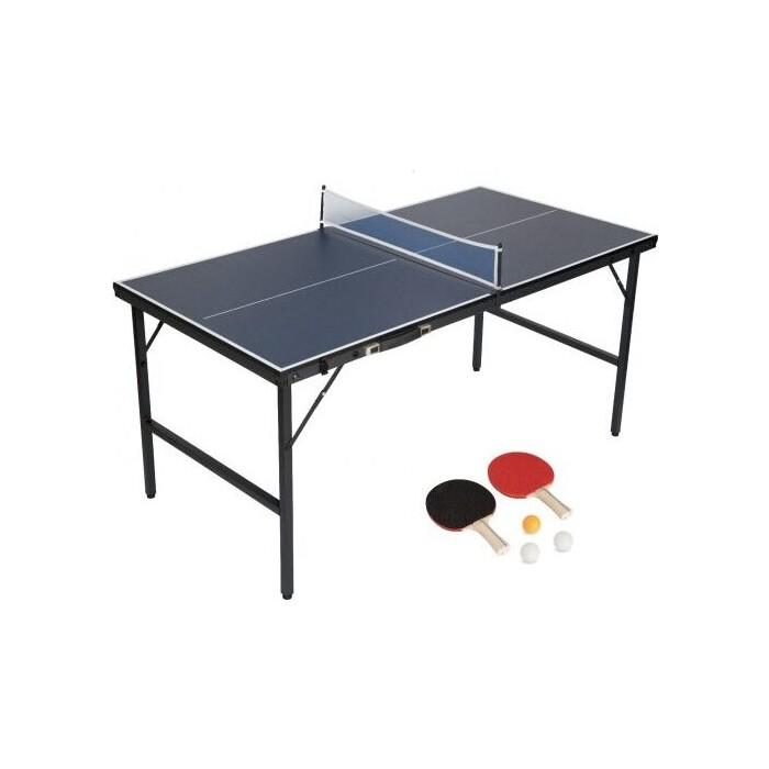 Теннисный стол EVO Fitness Mini (в комплекте сетка, 2 ракетки, 3 мячика)