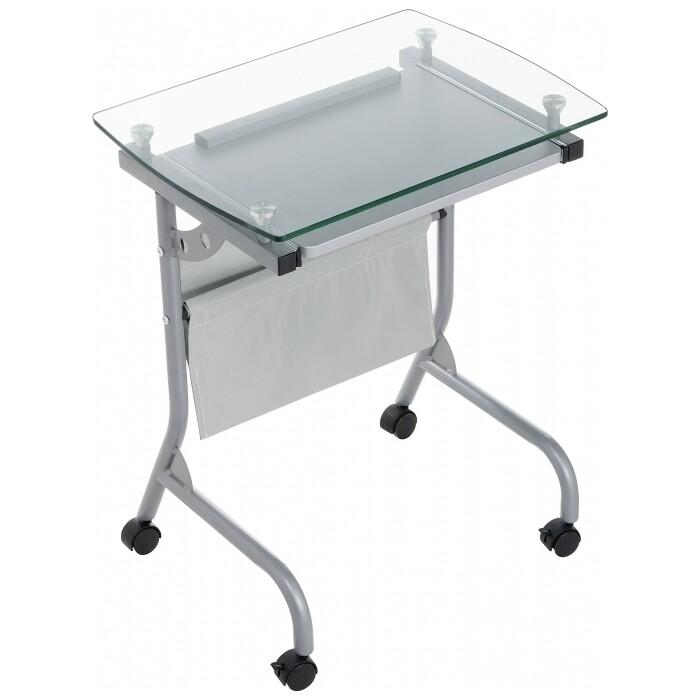 Компьютерный стол Woodville Riko серый