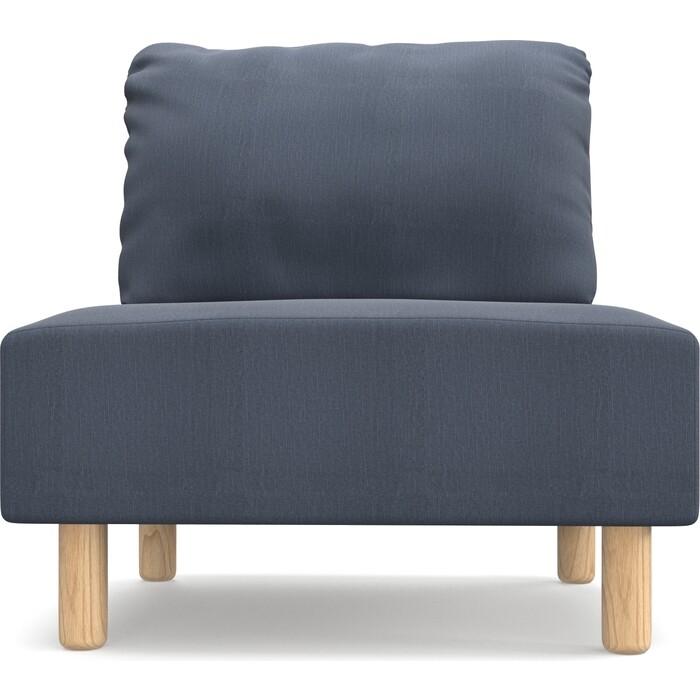 Кресло Anderson Свельд Орто серо-синяя рогожка