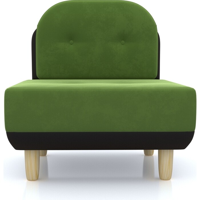 Anderson Кресло Торли зеленый вельвет