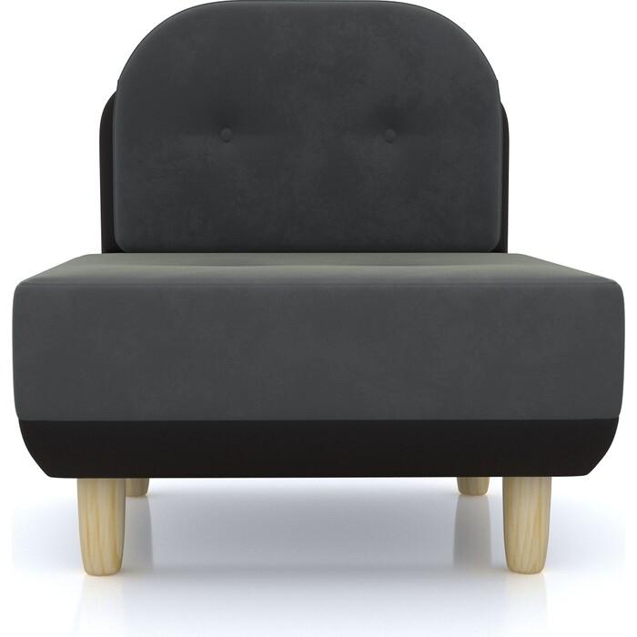 Anderson Кресло Торли темно-серый вельвет