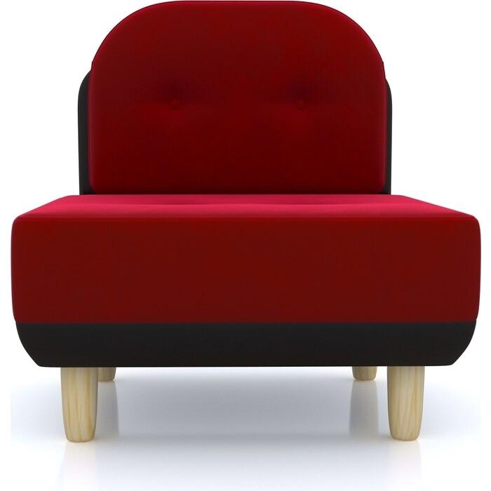 Anderson Кресло Торли красный вельвет