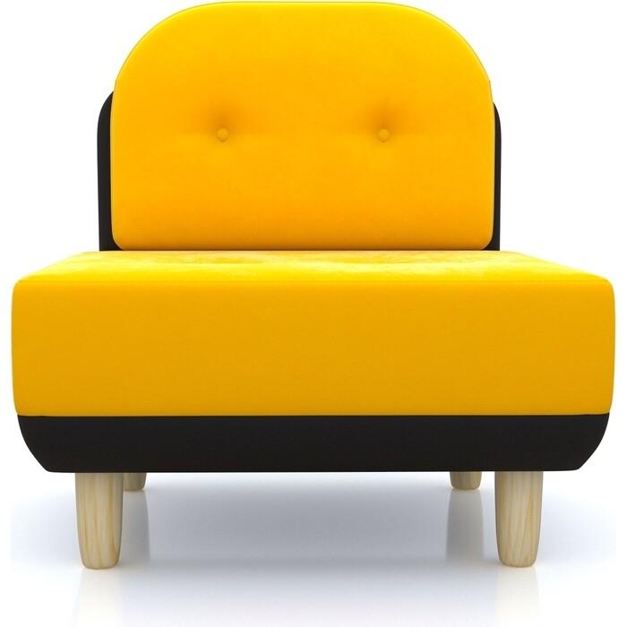 Anderson Кресло Торли желтый вельвет