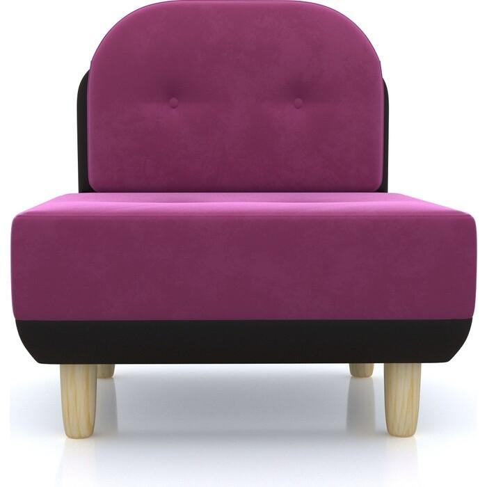 Anderson Кресло Торли фиолетовый вельвет