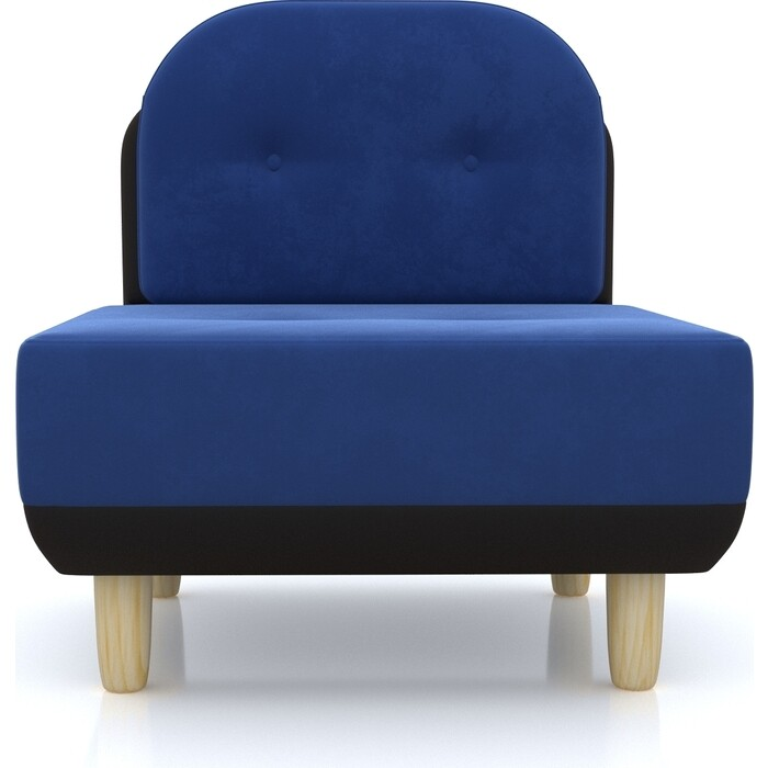 Anderson Кресло Торли синий вельвет