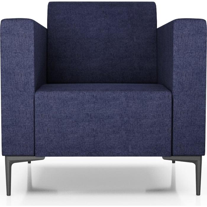 Anderson Кресло Ник синяя рогожка