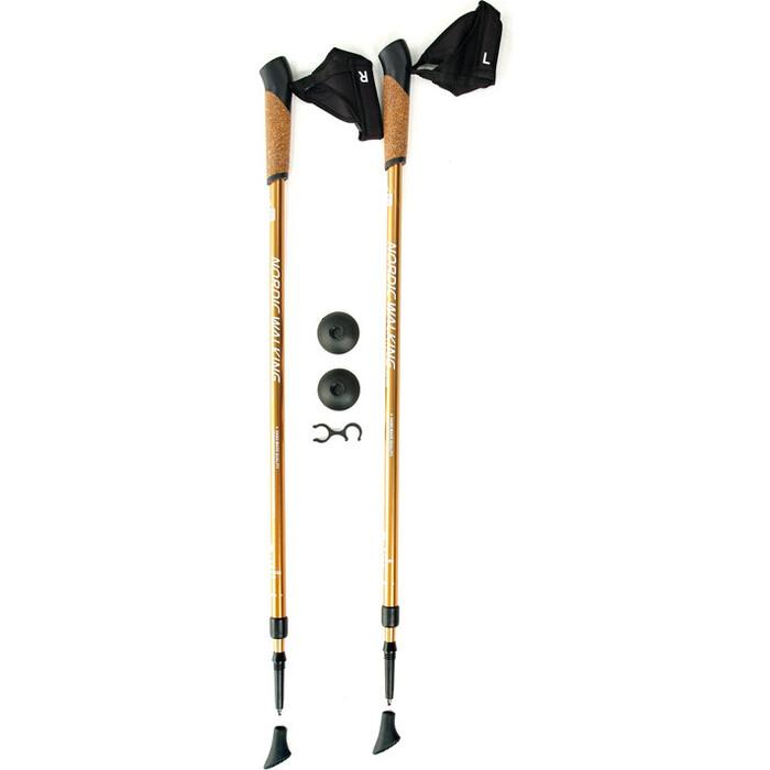 Телескопические палки Kaiser Sport для скандинавской ходьбы NORDIC WALKING GOLD, SL-2B-2-135