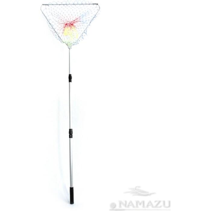 Подсачек складной Namazu L- 150 см, треугольный обод 50 см, леска