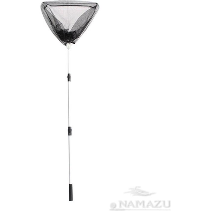 Подсачек складной Namazu L- 150 см, треугольный обод 60 см, капрон