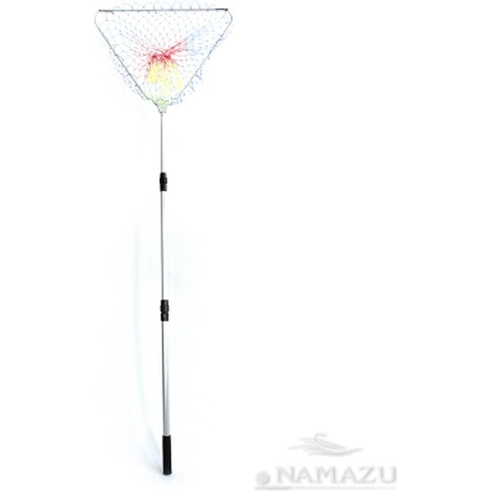 Подсачек складной Namazu L- 150 см, треугольный обод 60 см, леска