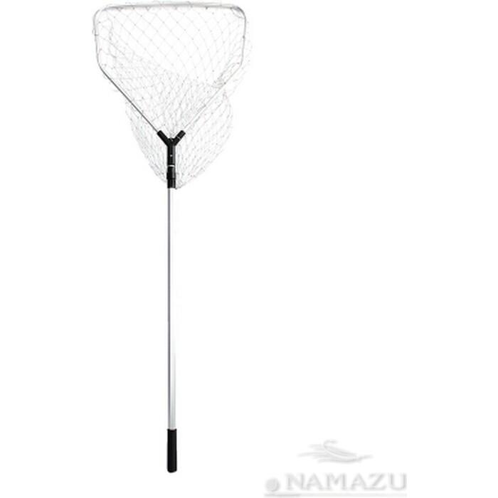 Подсачек складной Namazu L- 180 см, квадратный обод 60х55 см, нейлон