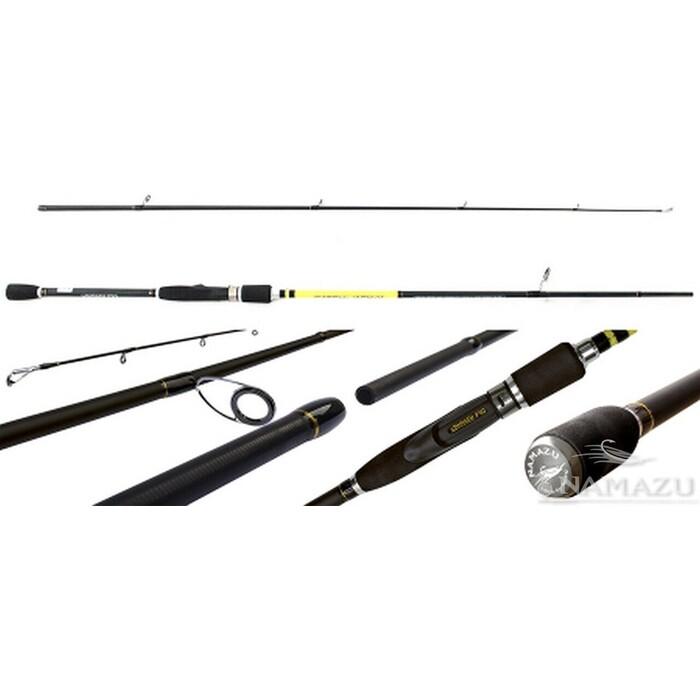 Спиннинг Namazu Pro Catch-Jack-X IM8, 2,1 м, тест 15-50 г