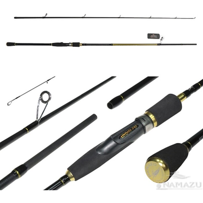 Спиннинг Namazu Pro Catch-Jack-X IM8, 2,4 м, тест 15-50 г