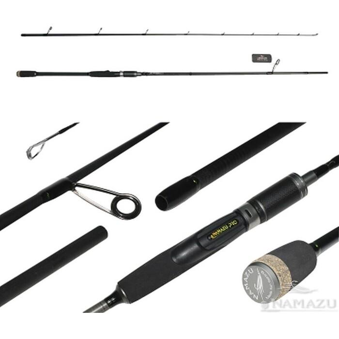 Спиннинг Namazu Pro SupaPull-Jack II IM9, 2,4 м, тест 15-50 г
