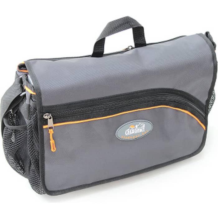 Сумка рыболовная Следопыт Street Fishing Bag, 30х38х16 см, цв. серый + 3 коробки (2 Luno 20 1 28)