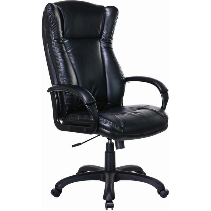 Кресло офисное Brabix Premium Boss EX-591 экокожа черное 532099 кресло офисное brabix rest ex 555 пружинный блок экокожа черное premium 531938