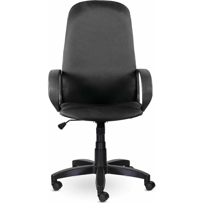 Кресло офисное Brabix Praktik EX-279 ткань JP/ кожзам серое 532020
