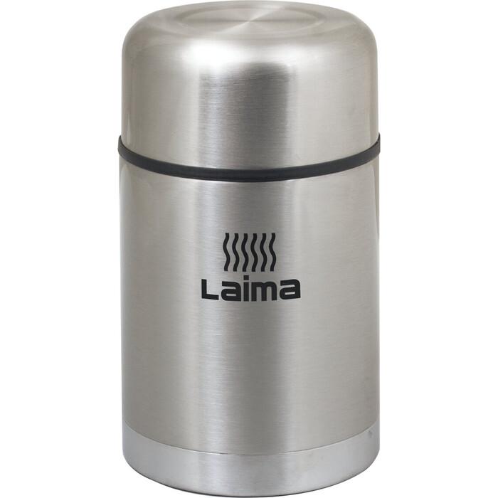 Термос Лайма Универсальный с широким горлом, 0,8 л, нержавеющая сталь 601408