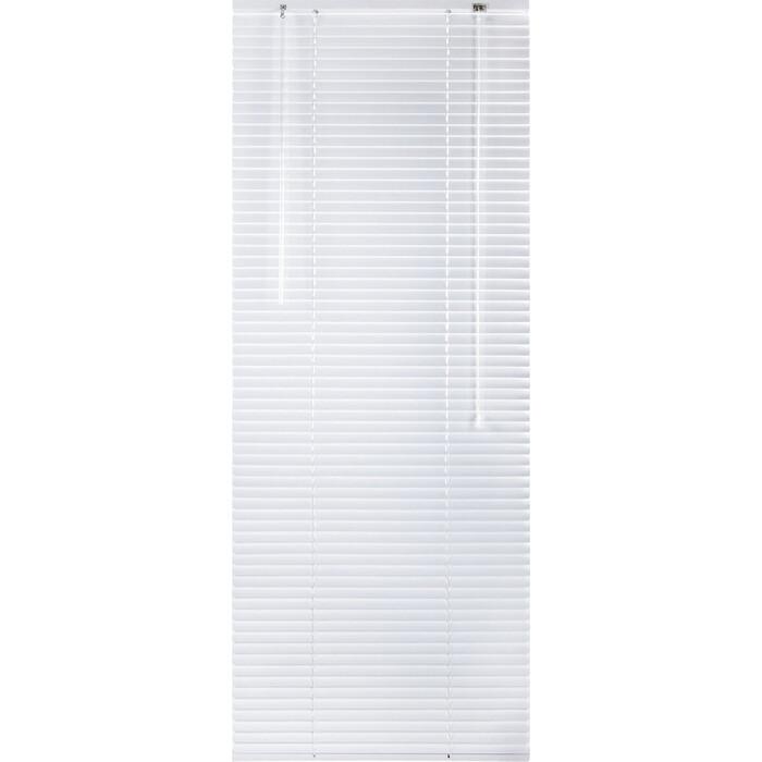 Жалюзи горизонтальные Brabix 120x160 см алюминий, цвет белый 606042