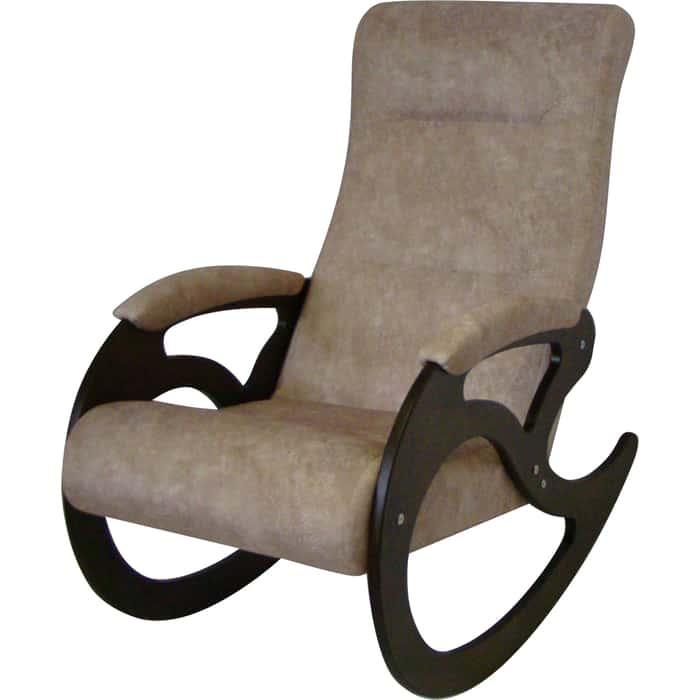 Кресло-качалка ТД Сириус Венера темный орех Торонто 01