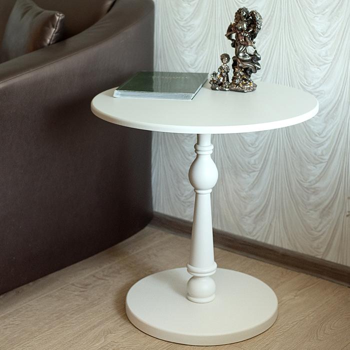 Стол журнальный Мебелик Рио 5 белый ясень