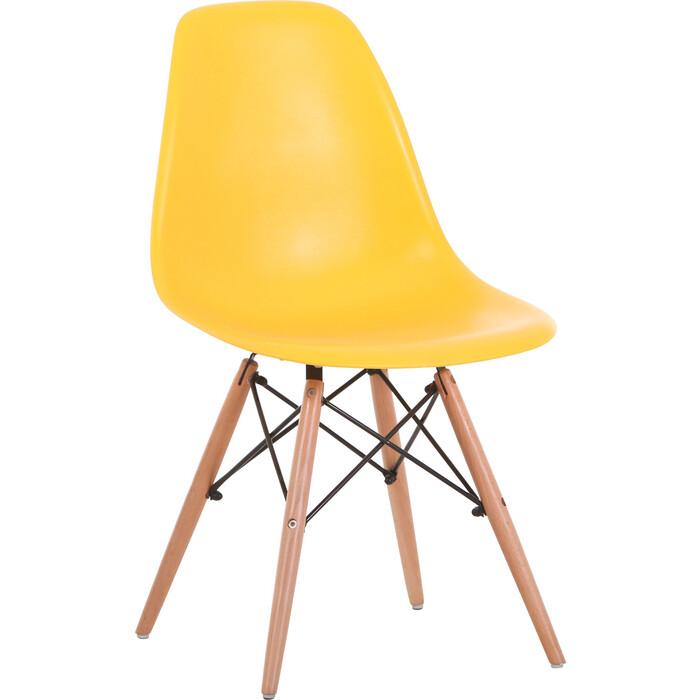 Стул LoftyHome Acacia XH-8056PP-Y yellow