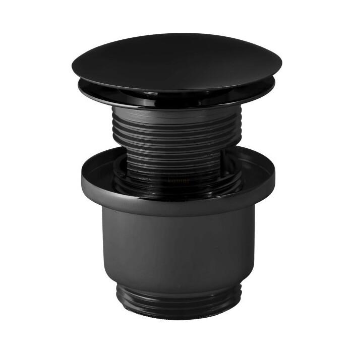 Донный клапан Paffoni черный матовый (ZSCA050NO)